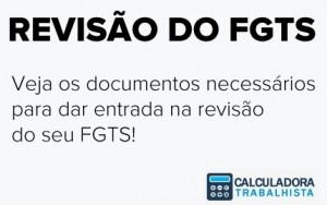 Como pedir revisão do FGTS